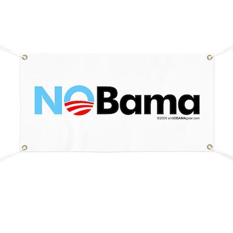 No Bama Banner