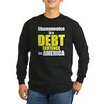Obamanomics Long Sleeve Dark T-Shirt