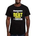 Obamanomics Men's Fitted T-Shirt (dark)