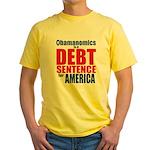 Obamanomics Yellow T-Shirt