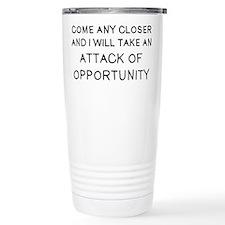 Come Closer Travel Coffee Mug