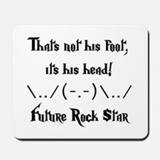 Future Rock Star Mousepad