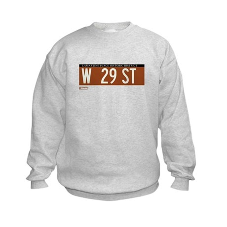 West 29th Street in NY Kids Sweatshirt