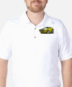 1971-72 Roadrunner Yellow Car T-Shirt