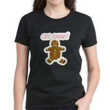 Oh Snap Gingerbread Man Tee