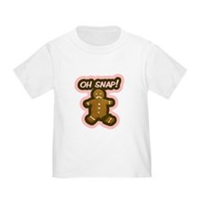 Oh Snap Gingerbread Man T
