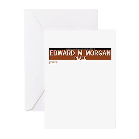 Edward M Morgan Place in NY Greeting Cards (Pk of