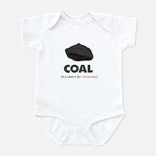 Coal - It's what's for Christ Infant Bodysuit