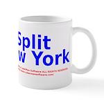 Split New York Mug