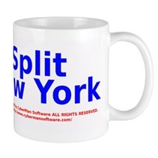 Split New York Mug