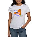 Split New York Women's T-Shirt