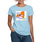 Split New York Women's Light T-Shirt