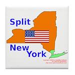 Split New York Tile Coaster