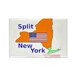 Split New York Rectangle Magnet (10 pack)