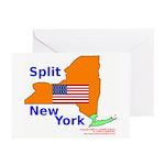 Split New York Greeting Cards (Pk of 20)