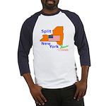Split New York Baseball Jersey