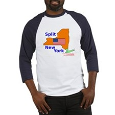 Split New York Baseball Jersey