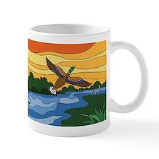 Mug for Men with Mallard duck