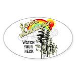 Forks Washington Twilight Oval Sticker (10 pk)