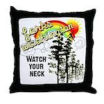 Forks Washington Twilight Throw Pillow