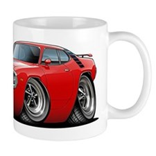 1971-72 Roadrunner Red Car Mug
