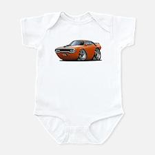 1971-72 Roadrunner Orange Car Infant Bodysuit