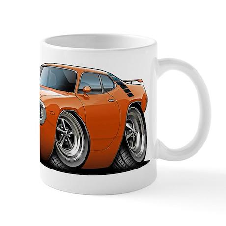 1971-72 Roadrunner Orange Car Mug