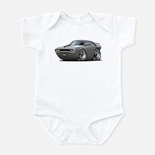 1971-72 Roadrunner Grey Car Infant Bodysuit