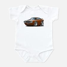 1971-72 Roadrunner Brown Car Infant Bodysuit