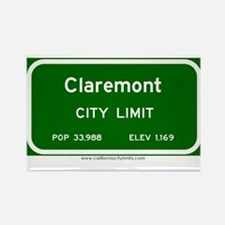 Claremont Rectangle Magnet