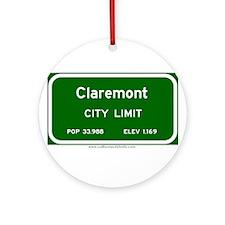 Claremont Ornament (Round)