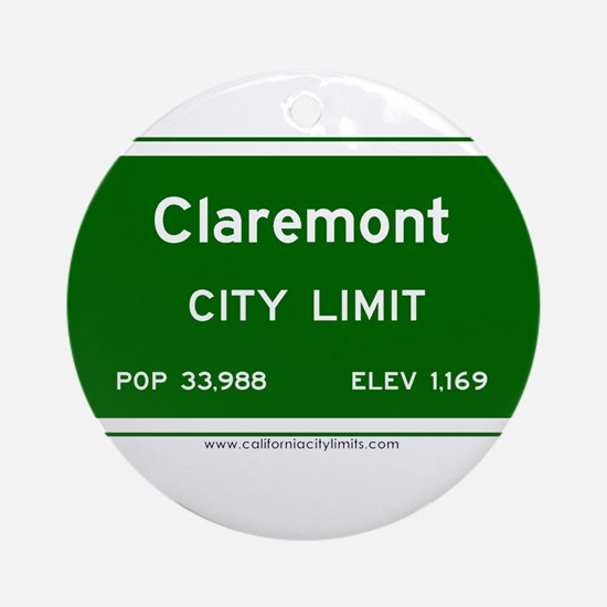 Claremont Ornament (Round)
