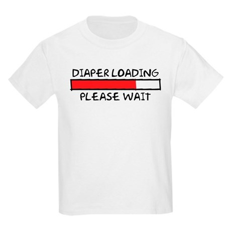 Diaper Loading Kids Light T-Shirt
