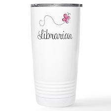 Cute Librarian Travel Mug