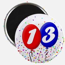13th Birthday Magnet