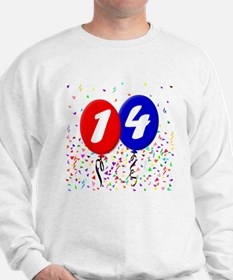 14th Birthday Sweatshirt