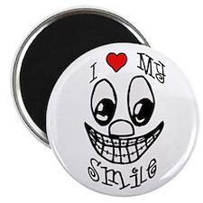 I Love My Smile Magnet