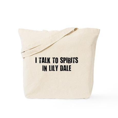 I TALK TO SPIRITS Tote Bag