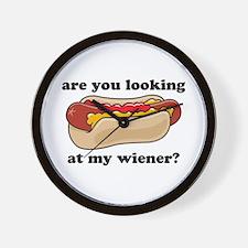 My Wiener Wall Clock