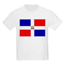 Dominican Republic Flag Kids T-Shirt