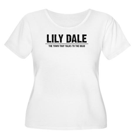 LILY DALE Women's Plus Size Scoop Neck T-Shirt