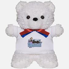 CBlk Lap Baby Teddy Bear