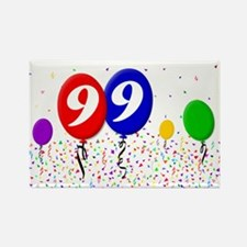 99th Birthday Rectangle Magnet