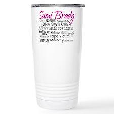 Sami Brady - Many Descriptions Travel Mug