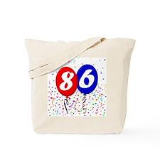 86th Birthday Tote Bag
