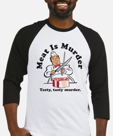 Meat Is Murder Baseball Jersey