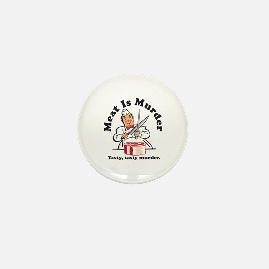 Meat Is Murder Mini Button (10 pack)