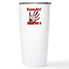 Hands Off H1N1 Travel Mug