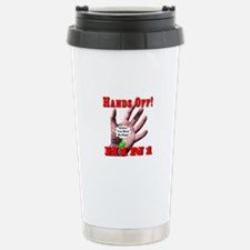 Hands Off H1N1 Travel Mug