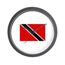 Trinidad and Tobago Flag Wall Clock